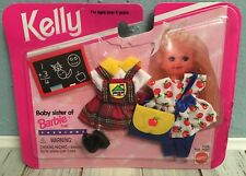 NEW * KELLY Doll **SCHOOL TIME CLOTHES SET**  Baby Sister of Barbie 1995