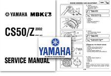 Yamaha CS50 JOG R Scooter Workshop Service Shop Factory Manual 2002 Onwards RR