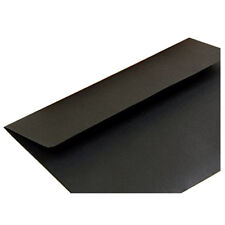 10pcs Black paper envelope plain and plain postcard bag M W3W6