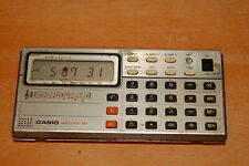 Vintage Casio Melody 80 Electronic Calculator Musical Clock