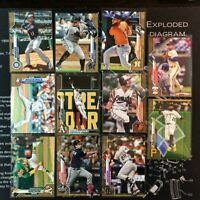 11 Card Lot: 2020 Topps Series 1 GOLD Parallel Lot, Short Print SP NO DUPES (#4)