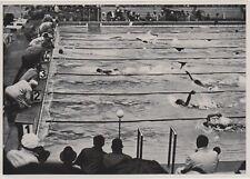 1936 BERLIN GERMAN OLIMPIC GAMES - Swimming Competition ORIGINAL PHOTO #88