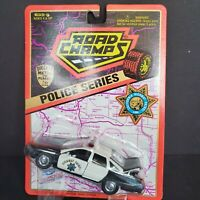 1995 ROAD CHAMPS POLICE SERIES CALIFORNIA HIGHWAY PATROL 1/43 DIE-CAST CAR