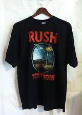 RUSH R40 BEACH 2015 TOUR T-SHIRT 2XL BRAND NEW BLACK GILDAN