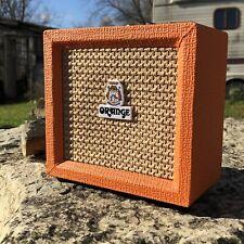 Orange Amps Crush Mini Combo Guitar Micro Amplifier 9V Battery-Powered 3W 8-ohm