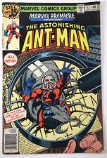 Marvel Premiere Comic The Astonishing Ant-Man #47 1st Appearance Scott Lang S300