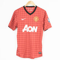 Nike Manchester United 2012/2013 Home AON Football Jersey Shirt #10 Rooney S