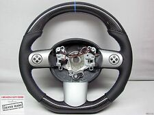 Mini Cooper R53 R50 GP JCW Blue Ring Small Diameter Custom CARBON STEERING WHEEL