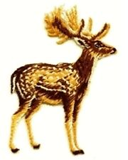 Spotted Deer Embroidered Iron On Applique Patch 28428