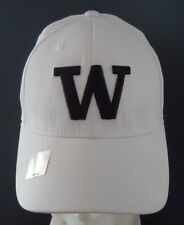 Washington Huskies NCAA TOW Tactel Black & White Hat Cap Brand New Size L/XL
