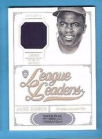 JACKIE ROBINSON GAME USED JERSEY CARD #d 86/99 2012 NATIONAL TREASURES Dodgers