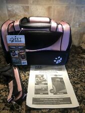 Pet Gear The Aviator 3-in-1 Carrier Pink And Black
