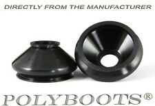 2x Polyboots Control Arm Dust Boots 15x38x26 mm Suspension Ball Joint Rubber