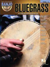 BLUEGRASS BANJO PLAY-ALONG SHEET MUSIC SONG BOOK W/CD