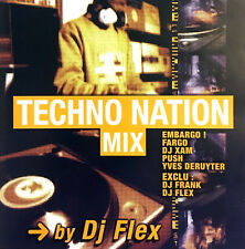 DJ Flex CD Techno Nation Mix - France (M/EX)