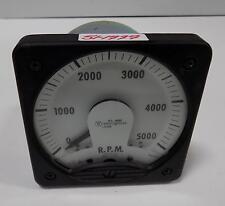 WESTINGHOUSE 0-5000RPM PANEL METER KC-241