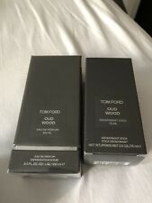 TOM FORD OUD WOOD Eau de PARFUM (EdP) 100ml + Deodorant Stick 75ml NEU OVP