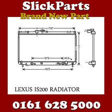 LEXUS IS200 RADIATOR AUTOMATIC / MANUAL 2.0 PETROL 1999 > 2005 *NEW*