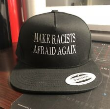 Make Racists Afraid Again Baseball Hat Cap Anti Trump Anti Fascist Anti Nazi