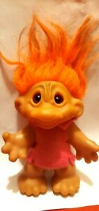 Dam Big NoseTroll  Doll- Orange hair