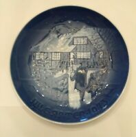 Bing & Grondahl Country Christmas Collector Plate 1973 Porcelain