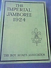 More details for boy scout book  -  world imperial jamboree 1924 wembley  england