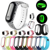 Sport Soft Pattern Fitness Wristband Strap For Xiaomi Mi Band 4/Xiaomi Mi Band 3