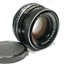 Voigtlander Color-Ultron 50mm 1:1.8 Lens QBM-II fits VSL-3E, Rolleiflex SL350