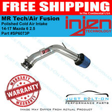 Injen Fits 14-17 Mazda 6 2.5 Polished Cold Air Intake MR Tech/Air Fusion SP6073P