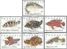 Tanzania 1040-1046 (compleet.Kwestie.) postfris MNH 1991 Vis