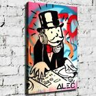 """26x16"""" Alec Monopoly """"DJ Monopoly"""" HD print on canvas fashion rolled up print"""