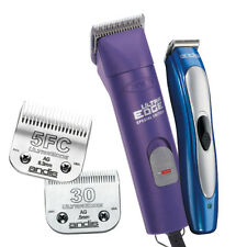 Professional Dog Grooming AGC UltraEdge Purple Clipper Kit Includes Trimmer