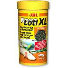 JBL NovoLotl XL 250ml Novo Lotl Complete Staple Food Pellets for Large Axolotl