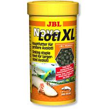 JBL novolotl xl 250ml Novo Lotl complet nourriture de base pour grand axolotl pellets