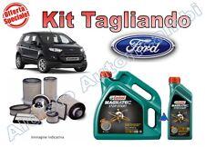 KIT TAGLIANDO FORD ECOSPORT 1.5 TDCI 90/95CV OLIO CASTROL 5W30 A5 + FILTRI