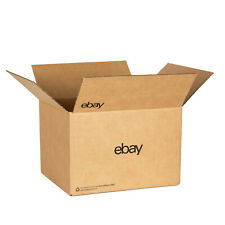 "eBay-Branded Boxes With Black Color Logo 12"" x 10"" x 8"""