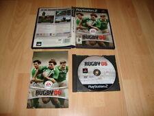 RUGBY 06 2006 DE EA SPORTS PARA LA SONY PS2 USADO COMPLETO