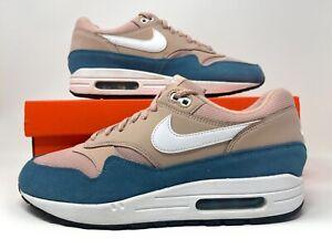 Nike Air Max 1 Running Blue White Womens Shoes  10.5