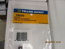 """YELLOW JACKET PKG. OF 10 GASKETS FOR ALL 1/4"""" CHARGING HOSES - 19020"""