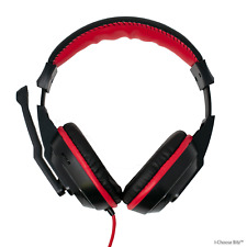 Dynamode DH-500 3.5mm Jack Stereo Headset / Headphones with Boom Microphone