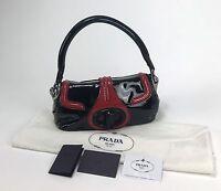 Bag Borsa Prada Bag Woman Model BR4593 Tote Bag Bicolour Black and Red
