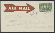 1928 AAMC #2803h Red Lake to Rolling Portage, Roessler Cover, Western Canada Air