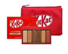 [ETUDE HOUSE X KITKAT]  PLAY COLOR EYES MINI KIT & POUCH SET / LIMITED EDITION