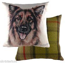 "17"" German Shepherd Alsatian Dog Cushion Evans Lichfield DPA271 43cm Waggydogz"