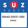 09440-05037-000 Suzuki Spring 0944005037000, New Genuine OEM Part