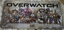Signed Overwatch Metal License Plate Blizzcon 2016