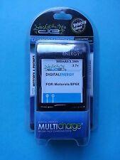 Digital Energy Desktop LI-ION 900mAh 3.7V Battery Kit Motorola BP6X. #230-1347