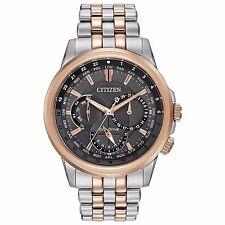 Citizen Eco-Drive Calendrier Men's BU2026-57H Chronograph 44mm Bracelet Watch