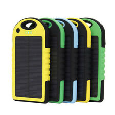 Universal 5000mAh Solar Charger Waterproof Solar Power Bank for More Phone Types