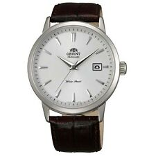 Orient ER27007W Men's Symphony Automatic Black Leather Strap Mechanical Watch